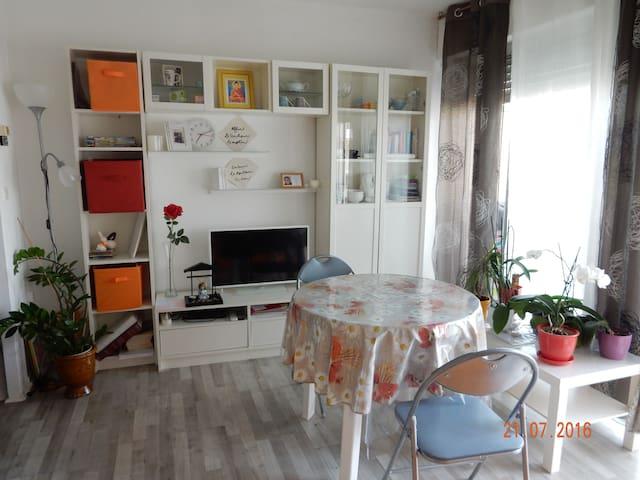 Studio tt confort en coeur de ville - Alès - Flat