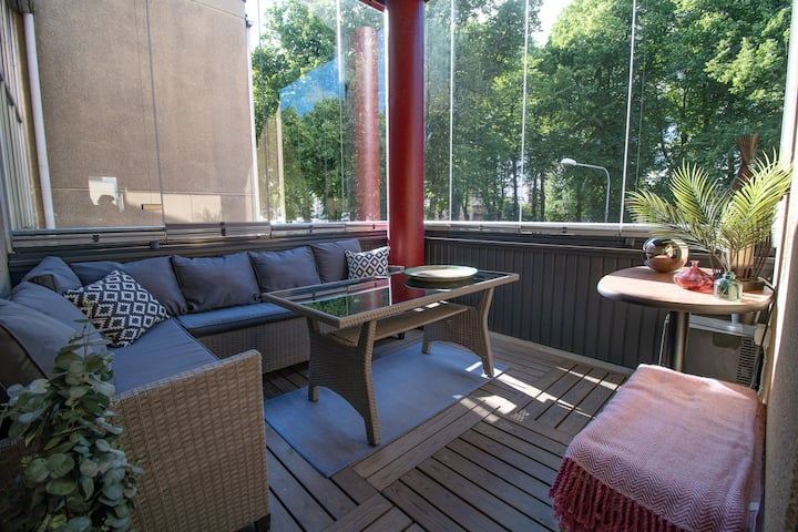City Apartment 302 with balcony downtown Loviisa