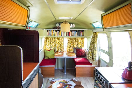 WandaLand - Retro glamping in the '74 Airstream - Morongo Valley