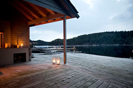 Unique Seafront House in Os, Bergen - Villa