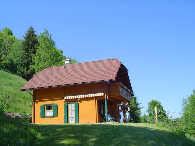 Almchalet Orter - Deutschberg - Faház