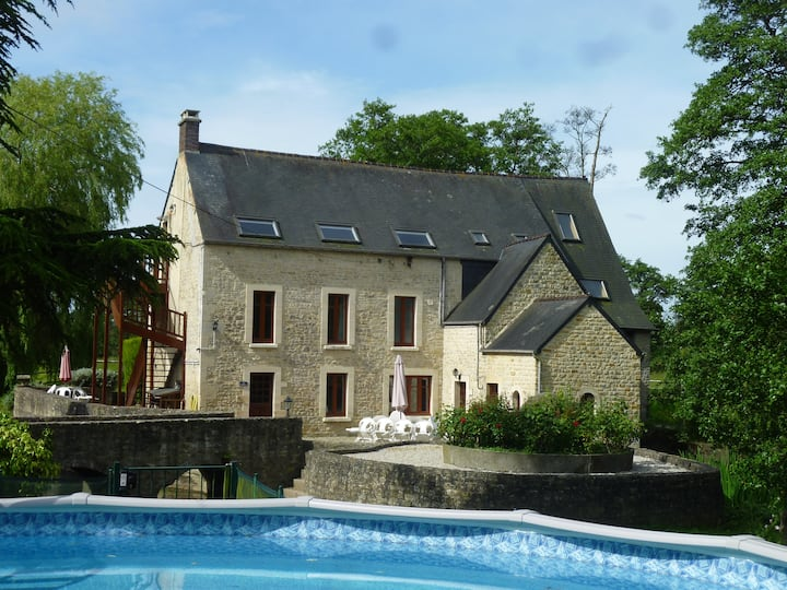 Le Moulin Morin -Woodpecker Bayeux