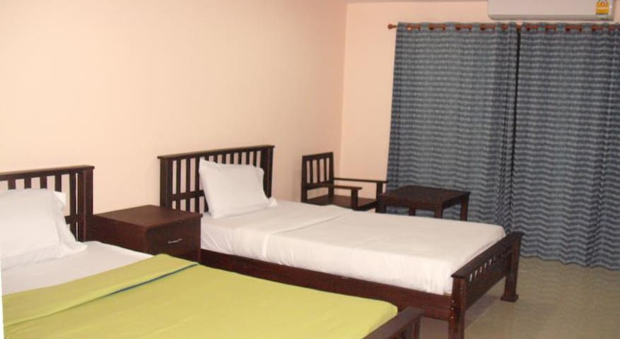 Two beds, surround with nature in quiet location - Mueang Chiang Rai - Apartemen