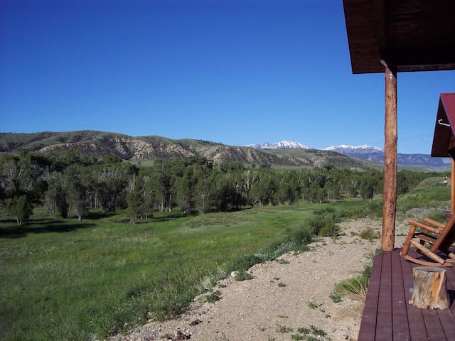 FiddlebackLodge and West Cabin