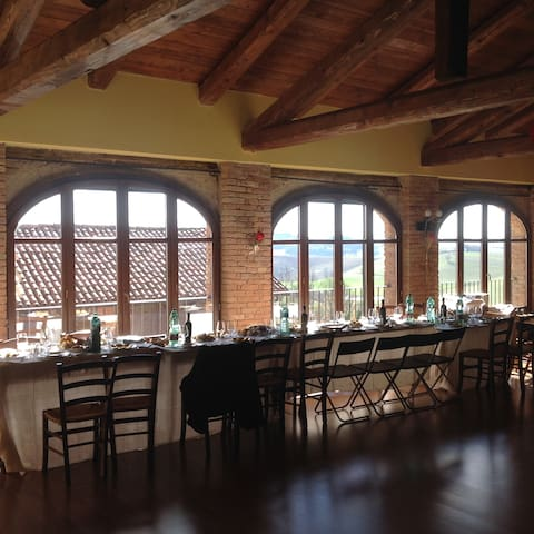 affitto fienile per feste e meeting aziendali - Casarello - ลอฟท์