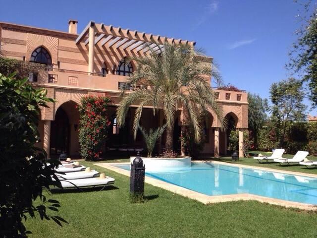 Villa   5 chambres avec piscine sur un golf - Marrakesh - Vila