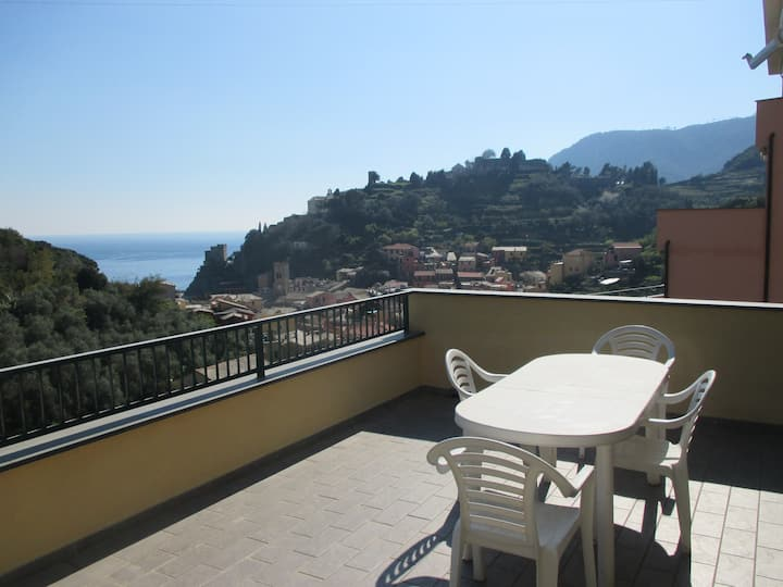 Monterosso view apartment 5 Terre