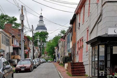In the Heart of Downtown Annapolis-Private Parking - Annapolis - House