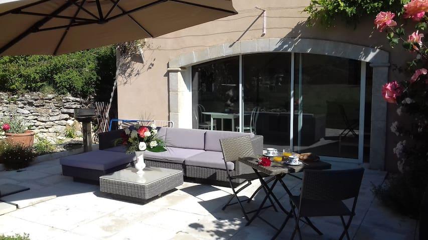 Gite Lavande 2 pers independant au pied du Luberon - Lacoste - Apartamento