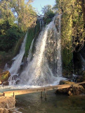 Kravice waterfalls (BiH) 30km