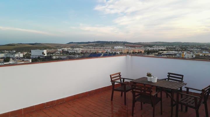 Torre Milady, Tablao Flamenco, Terraza y garaje
