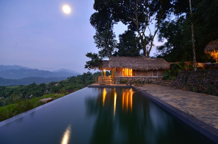 PU LUONG RETREAT- PRIVATE ROOM WITH VALLEY VIEW