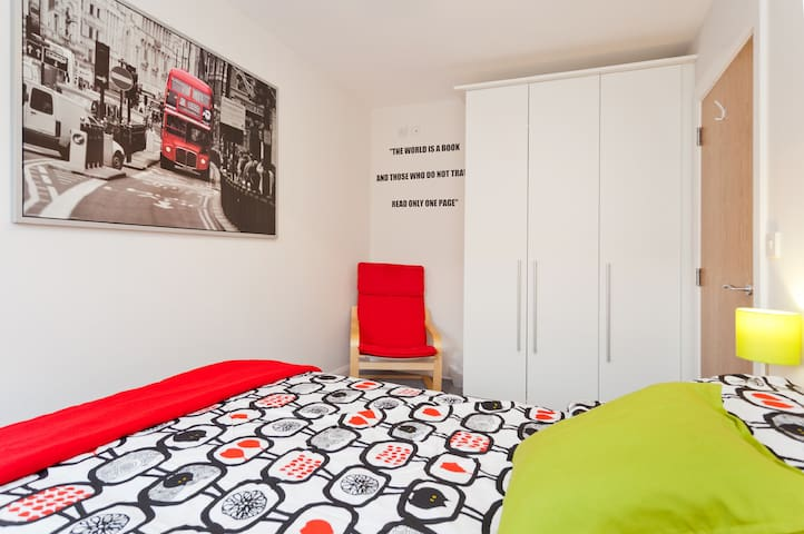 15min to airport dbl room + b'fast - Clongriffin - House