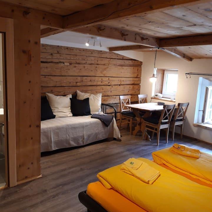 B&B-Zimmer im Schloss