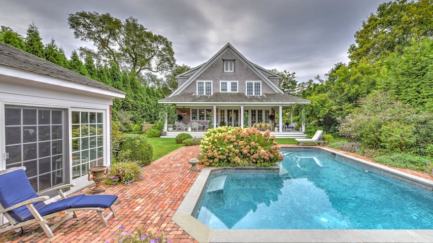 New Listing: Traditional Home w/ English Gardens, Pool, Rec Room, Close to Ocean Beaches