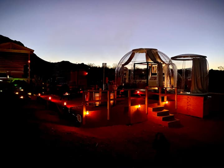 @ Marbella Lane - Joshua Tree Remote Desert Bubble Stargazing Glamping!