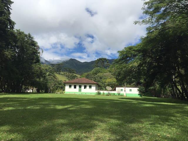 FAZENDA CAMPO VERDE - Visconde de Mauá - Casa de campo