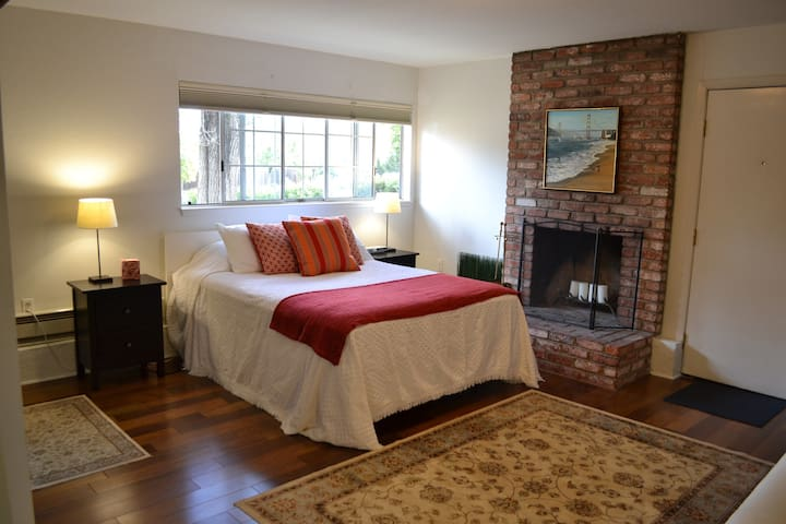 Beautiful Studio Apartment - Redwood City - Apartamento