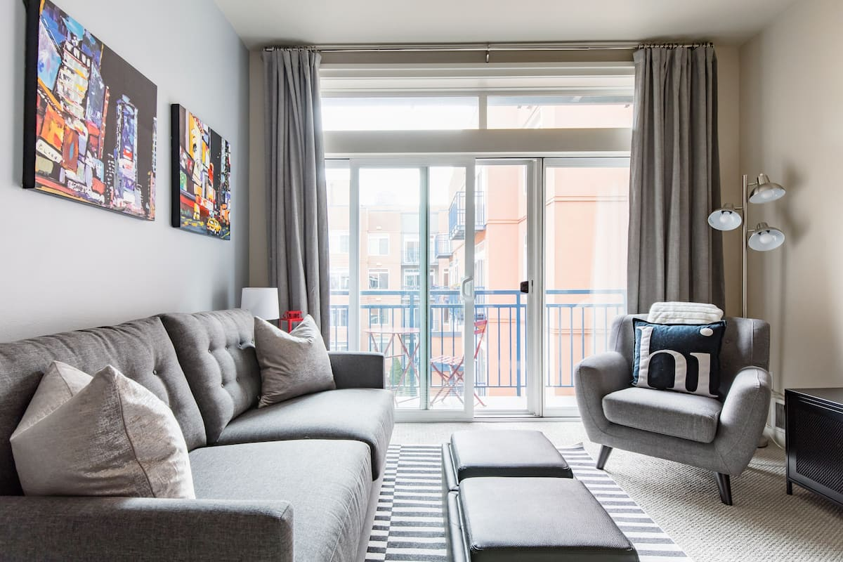 Sit Out on the Gorgeous Balcony of this Downtown Condo