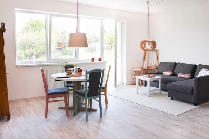 Sunny, peaceful & family-friendly Litomysl home