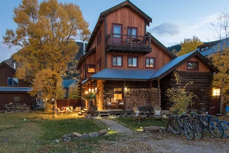 The Last Great Colorado Ski Cabin in Crested Butte - Crested Butte - Ξυλόσπιτο