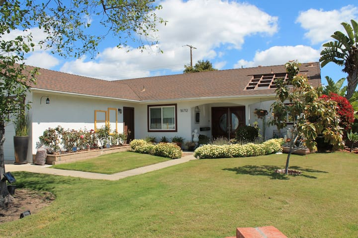 CASUAL STAY NEAR THE COAST AND DISNEYLAND - Fountain Valley - House