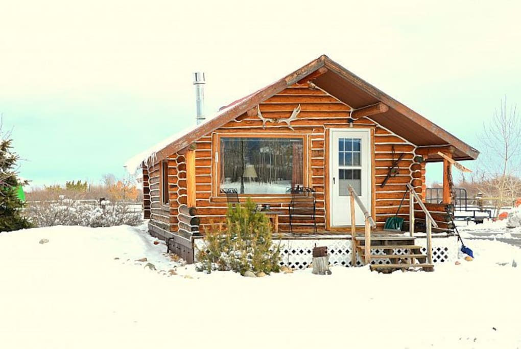 Great cabin ing the winter months