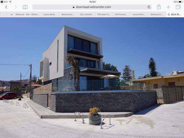 House Sea View  Direkt am Meer Bodenheizung