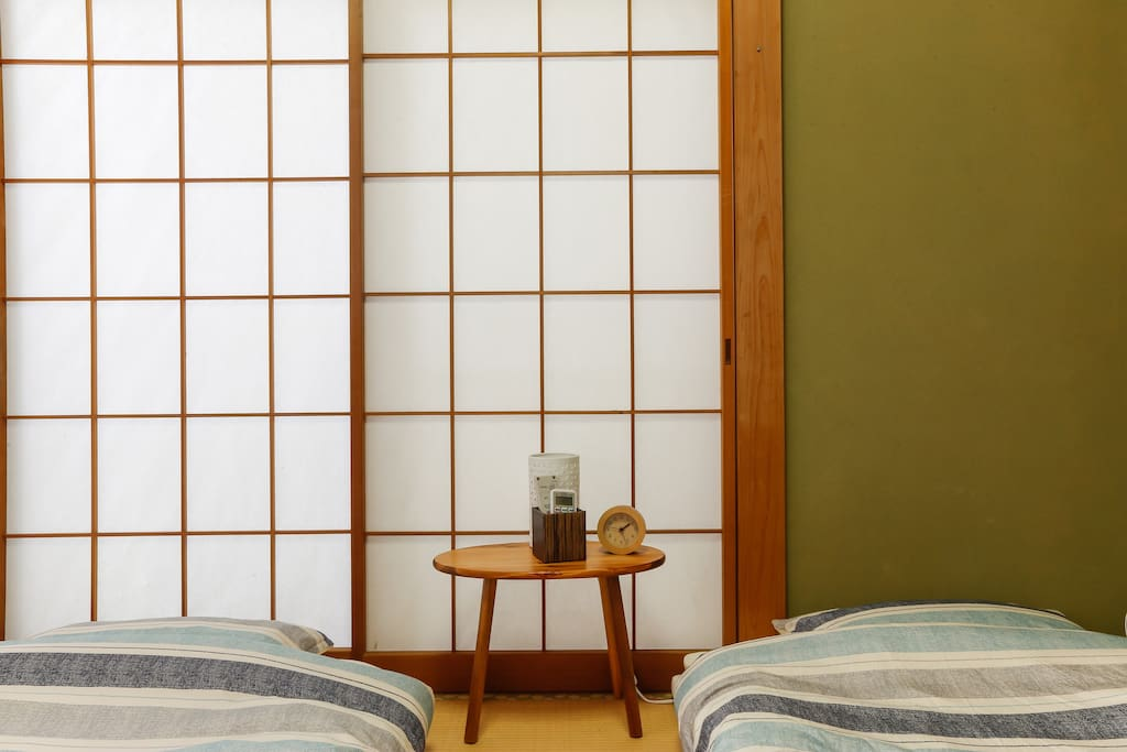 Our house is traditional Japanese house