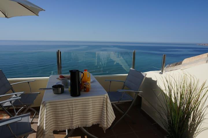Brand new frontline beach penthouse
