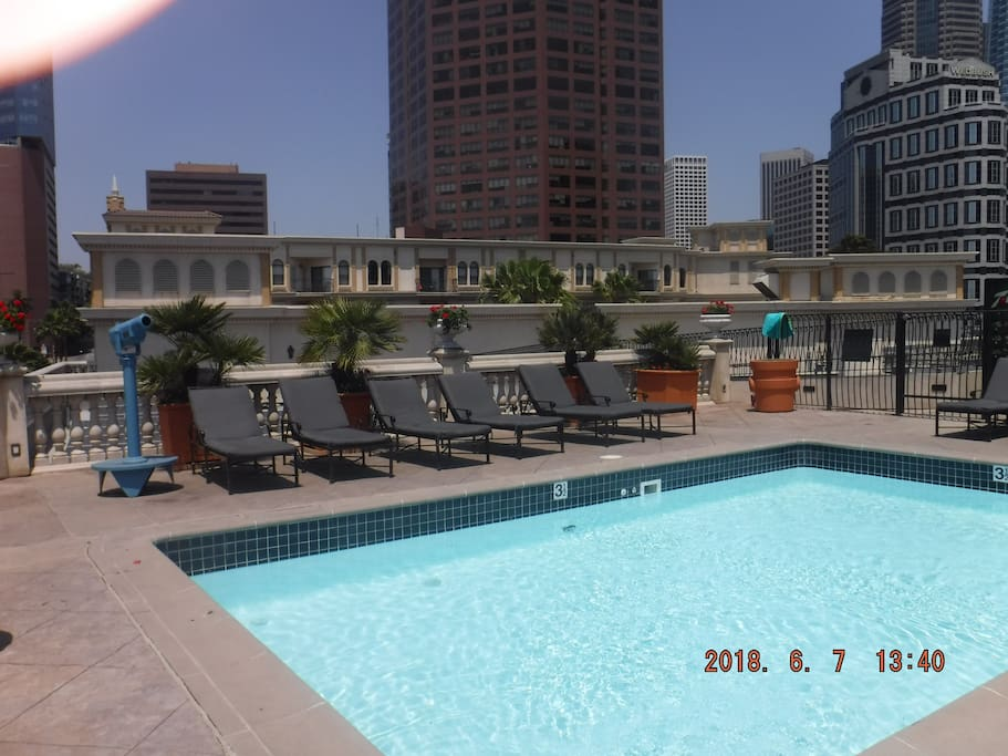 Roof Top Pool with Telescope