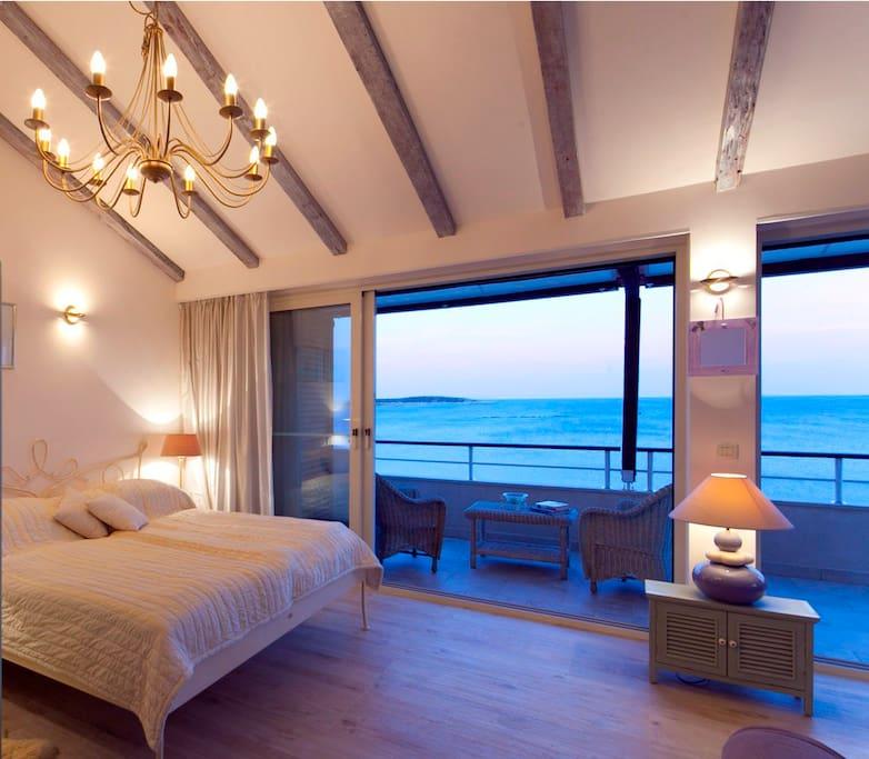 Master bedroom - wake up with stunning sea views