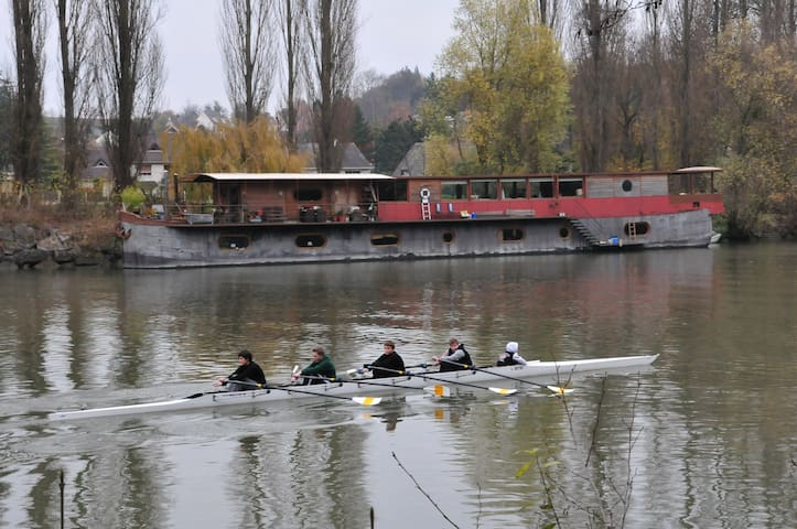Houseboat for rent Auvers sur oise - Val-d'Oise  - Boat