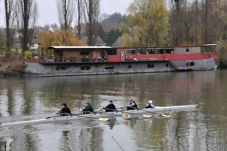 Houseboat / Péniche Auvers sur oise - Val-d'Oise  - Boot