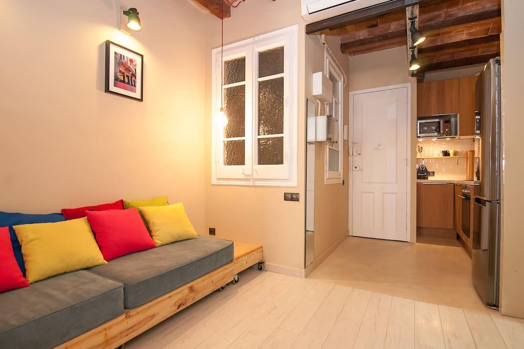 New flat next to passeig de gracia appartamenti in for Affitti appartamenti barcellona spagna