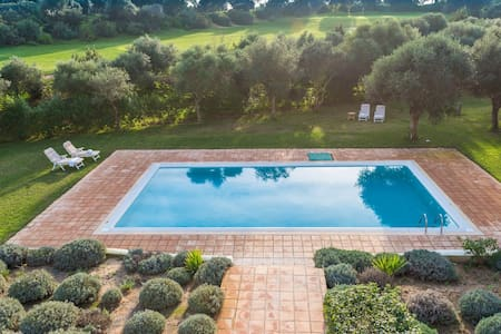 Dalia-Villa para 10. Piscina+jardin - Benalup-Casas Viejas