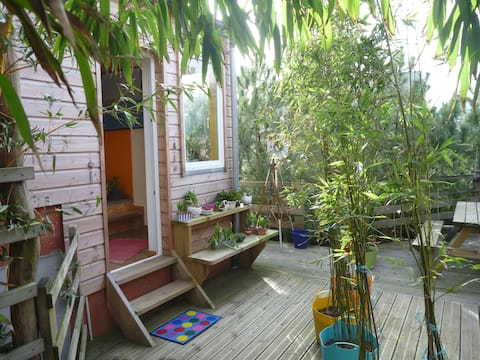 INDEPENDENT FLAT, CLOSE TO THE SEA, cute, atypical