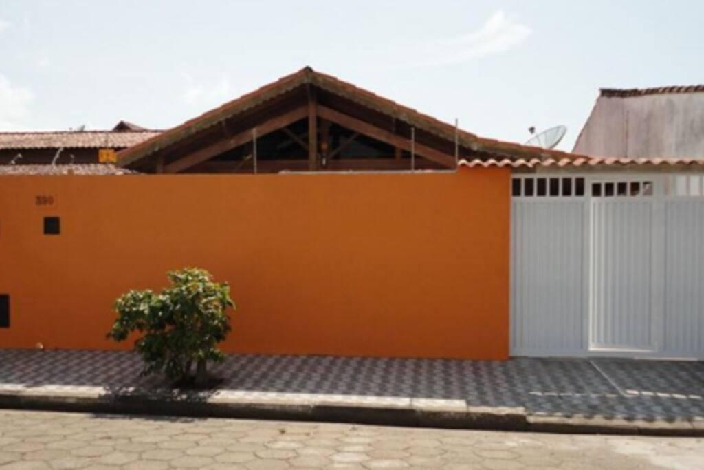 Muro da frente da casa - segurança total !