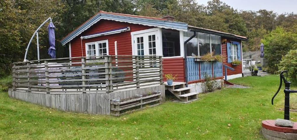 House with garden by the sea only 20 min from city