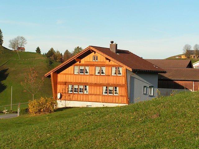 Ruhiges Studio mit Aussicht - Appenzell - Apartment