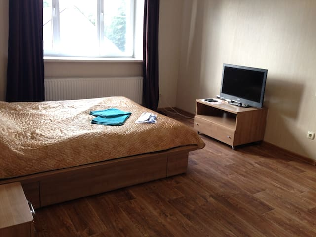 Very cozy 2 rooms apartment in Perlovka house - Мытищи - Bed & Breakfast