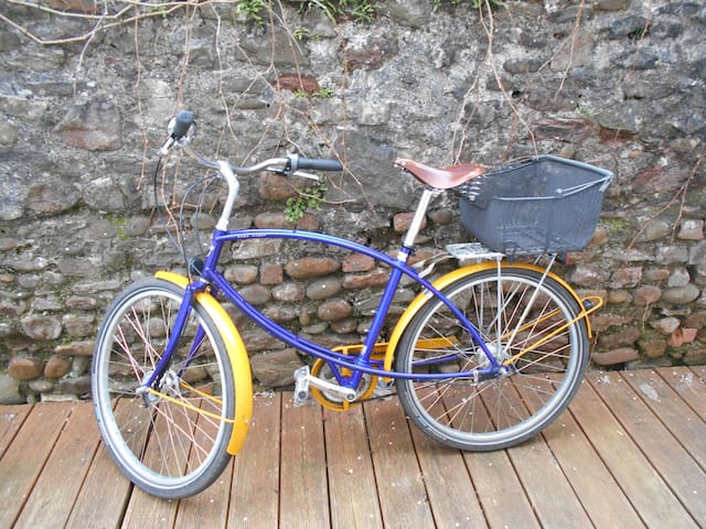 Bike hire available, please ask for availability and price