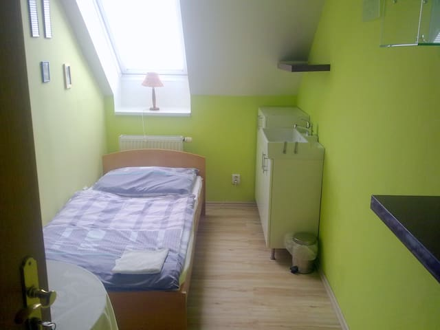 Single room on the outskirts Prag,5 - Jinočany
