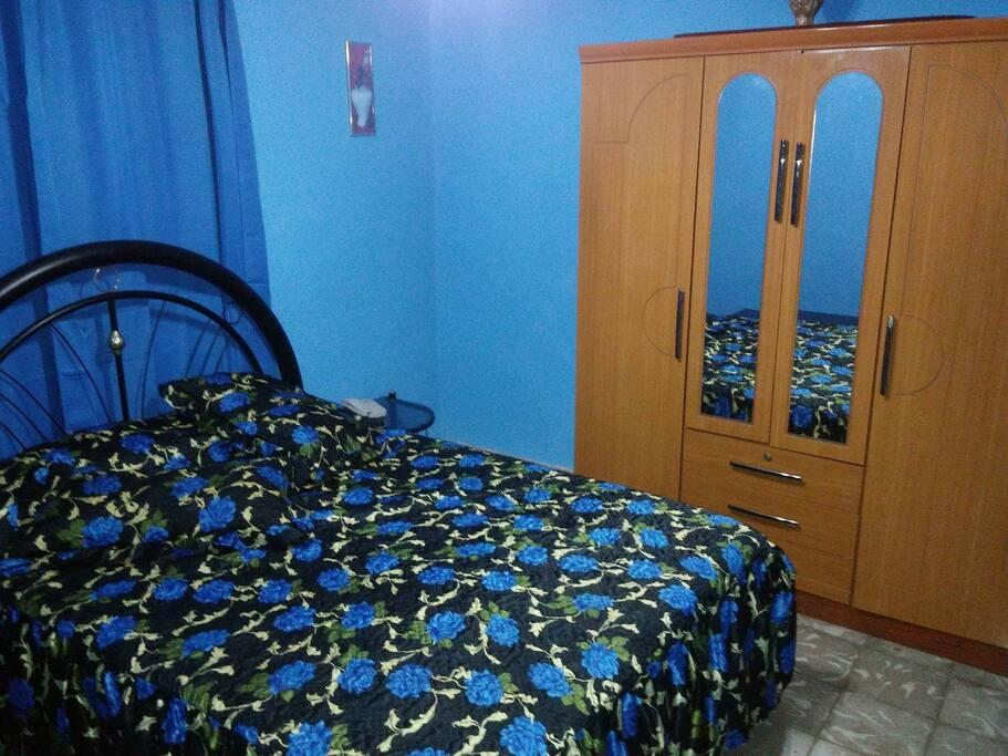el segundo cuarto del apartamento