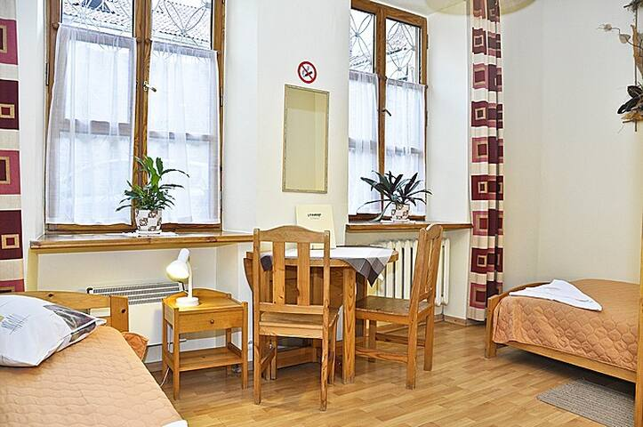 Twin room in Vilnius Old Town - Wilno - Wikt i opierunek