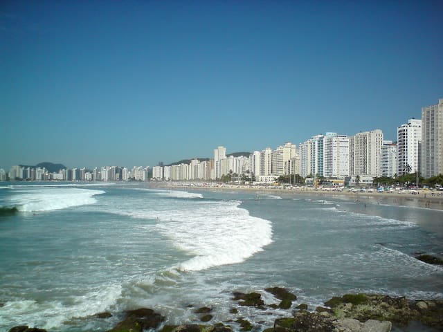 nice flat at Pitangueiras beach in Guaruja - Guarujá - Wohnung