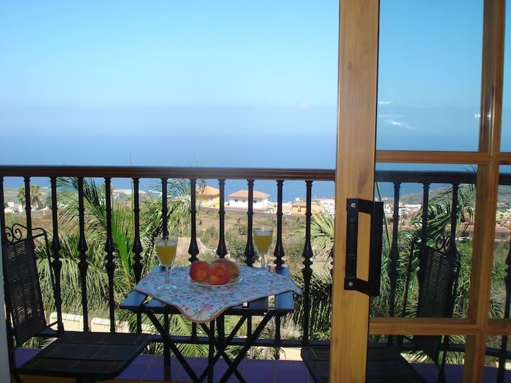 Appartement balcon vue mer Tenerife