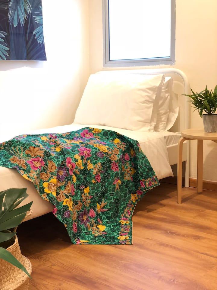 BK Hostel @ City Centre Room D - Single Room