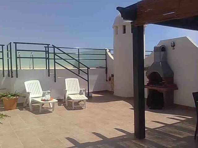 atico con piscina privada - Playas de Vera - Apartment