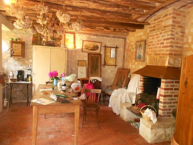 Maison avec cachet au coeur de la Charité - La Charité-sur-Loire - Hus